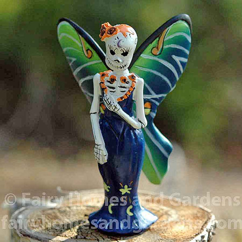 Miniature Day of the Dead Luna Fairy