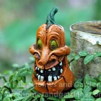 Miniature Goofy Jack O'Lantern