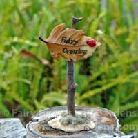Miniature Fairy Crossing Sign