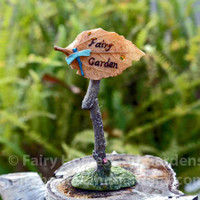 Miniature Fairy Garden Sign