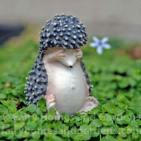 Miniature Bashful Hedgehog Collectible