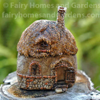 Micro Mini Stone Fairy House
