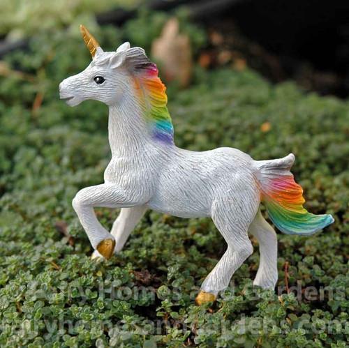 Miniature Magical Unicorn Figurine