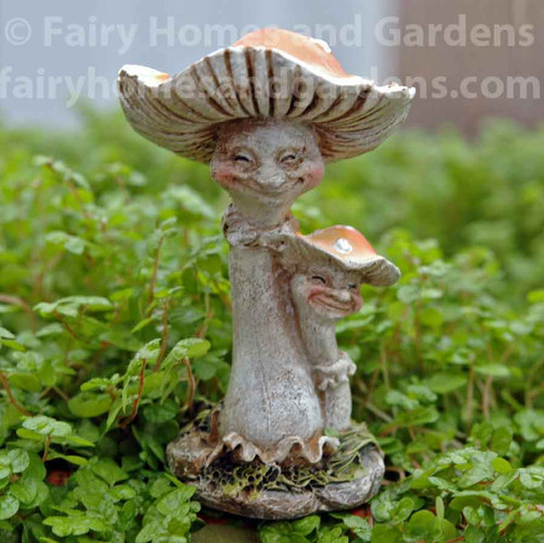 Miniature Happy Mushrooms