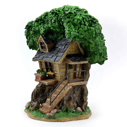 Solar Fairy Treehouse with Stairs