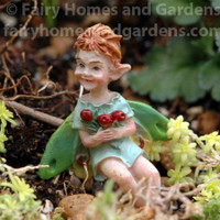 Swamp Fairy 'Cousin Cranberry' Back View