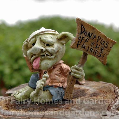 """'Don't Piss Off the Fairies"""" Troll"""