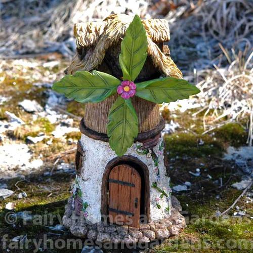 Windmill Fairy House