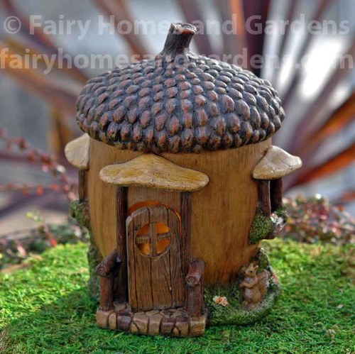 Woodland Knoll Acorn Fairy House