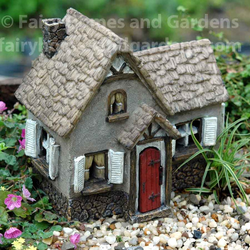Woodland Knoll Tudor Fairy House