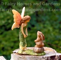 Woodland Knoll Fairy with Bunny