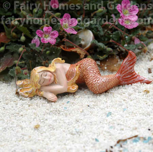 Miniature Sleeping Mermaid
