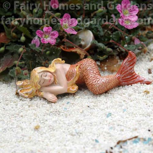 Miniature Sleeping Mermaid