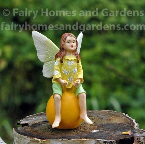 Fairy Kid on Bouncy Ball