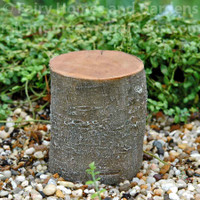 Tall Decorative Tree Stump Riser Displayer
