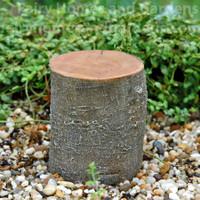 Tall Decorative Tree Stump Riser Displayer