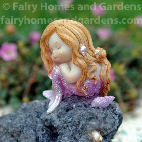 Little Mermaid in Thought - Close Up View