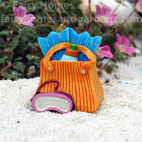 Miniature Merriment Beach Bag with Flippers
