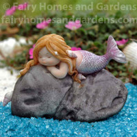 Little Mermaid on Rock