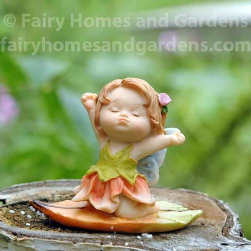 Little Fairy Caroline Stretching