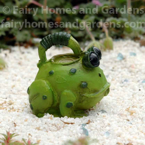 Miniature Frog Watering Can