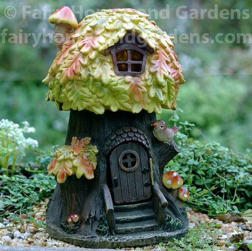 LED Fall Leaves Fairy House