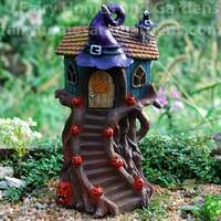 LED Halloween Witch Hat Tree House