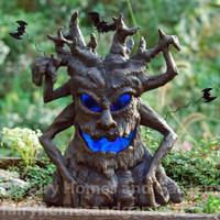 Large LED Spooky Tree Halloween Display