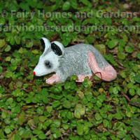 Miniature Opossum Animal Figurine