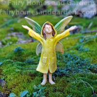 Miniature Rainy Day Fairy