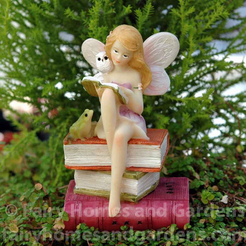 Top Collection Flower Fairy Reading