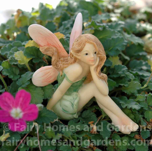 Miniature Top Collection Flower Fairy Daydreaming