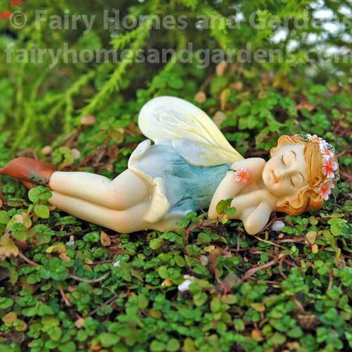 Miniature Top Collection Fairy Figurine Sleeping