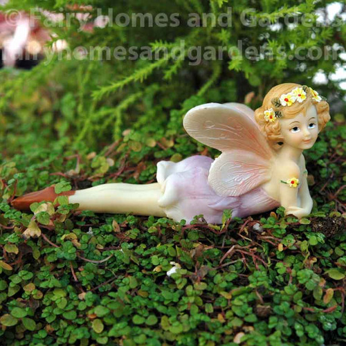 Top Collection Reclining Flower Fairy