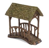 Miniature Woodland Knoll Covered Bridge