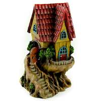 Red Roof Fairy Tree House