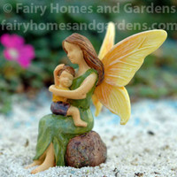 Miniature Cherished Fairy Boy and Mom