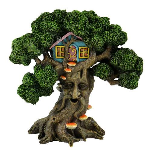 Enchanted Tree with Fairy Tree House
