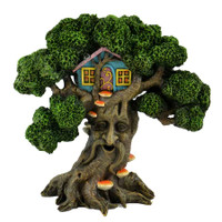 Enchanted Tree with Fairy Tree House
