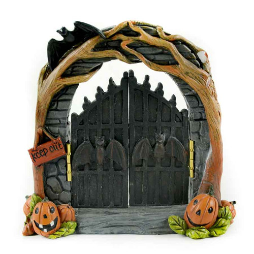 Halloween Archway with Hinged Doors