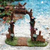 Top Collection Miniature Fairy Garden Arbor
