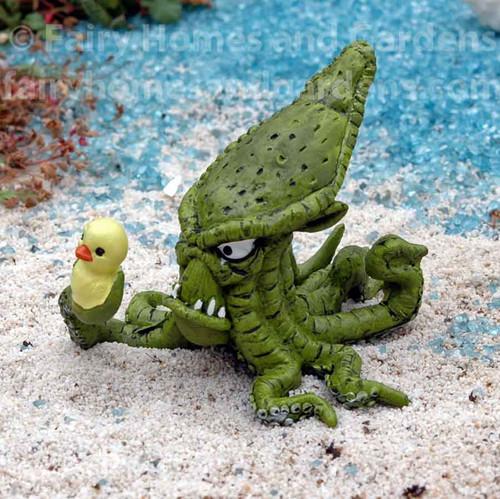 Kraken with Rubber Ducky