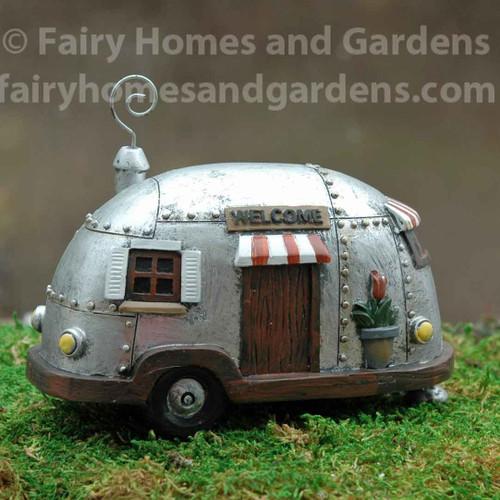 Vintage Silver Fairy Camper