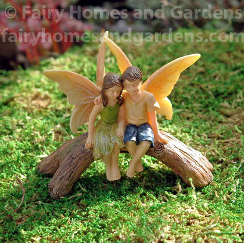 Woodland Knoll Fairies on Friendship Bridge
