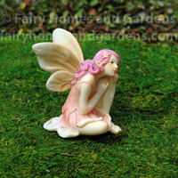 Pretty in Pink Flower Fairy
