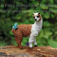 Miniature Llama Figurine Collectible
