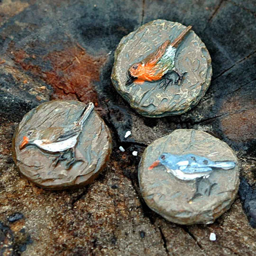 Tiny Bird Stepping Stones