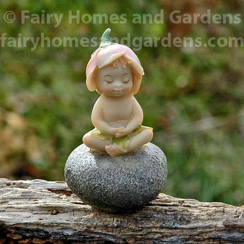 Miniature Meditating Sprite Collectible