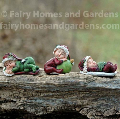 Miniature Christmas Babies - Set of Three