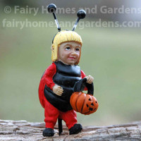 Miniature Kid in Ladybug Costume